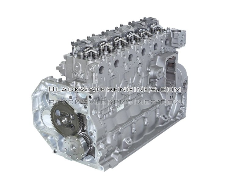 5.9 LITER ISB/QSB 5.9L 24V ISB/QSB CUMMINS® COMMON RAIL REAR GEAR DIESEL LONG BLOCK ENGINE